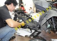 Sửa chữa trung đại tu các loại xe máy